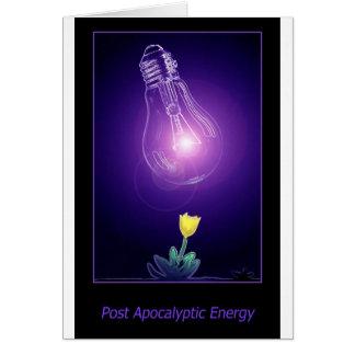 Post Apocalyptic Energy Card