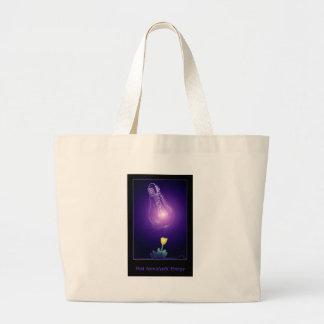 Post Apocalyptic Energy Jumbo Tote Bag
