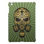 Post Apocalyptic Sugar Skull, army green Case For The iPad Mini