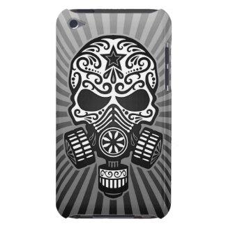 Post Apocalyptic Sugar Skull, grey iPod Case-Mate Cases