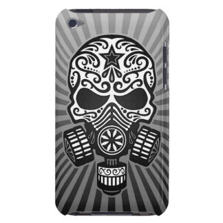 Post Apocalyptic Sugar Skull, grey iPod Touch Case