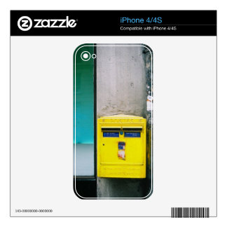 Post Box Iphone Skin Skin For iPhone 4S