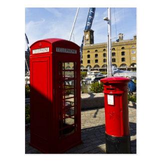 Post Box Phone box Postcard