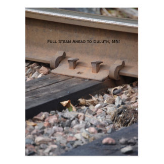 post card2 007, Full Steam Ahead to Duluth, MN! Postcard