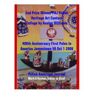 Post Card 2nd Prize Winner PAJ Heritage...