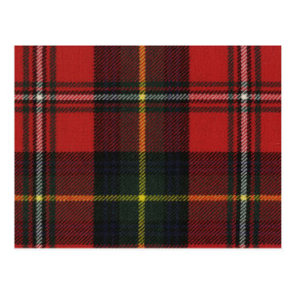 Post Card Boyd Modern Tartan Print