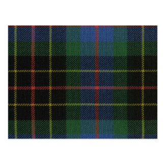 Post Card Brodie Hunting Ancient Tartan Print