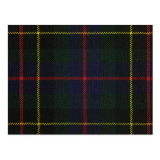 Post Card Brodie Hunting Modern Tartan Print