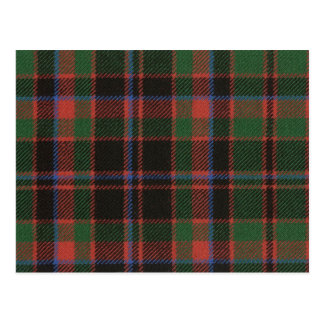 Post Card Buchan Clan Ancient Tartan Print