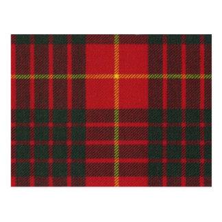 Post Card Cameron Clan Modern Tartan Print