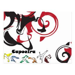 post card capoeira martial arts