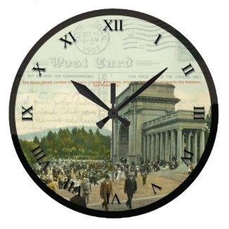 Post Card Clock - Golden Gate Park, San Francisco