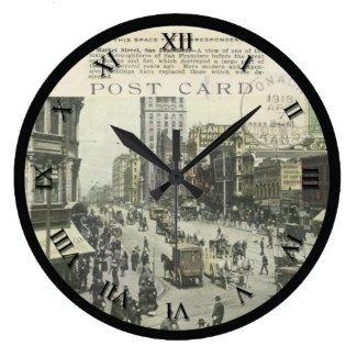 Post Card Clock - San Francisco,CA - Market St