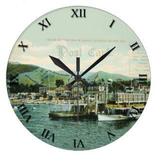 Post Card Clock - Santa Catalina Island, CA