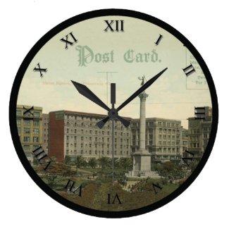 Post Card Clock - Union Square, San Francisco, CA