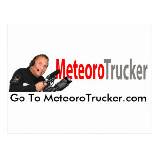 Post Card de Meteoro Trucker