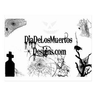 Post Card DiaDeLosMuertosDesigns Script