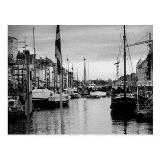 Post Card from Nyhvn in Copenhagen, Denmark
