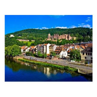 post card Heidelberg, Germany,