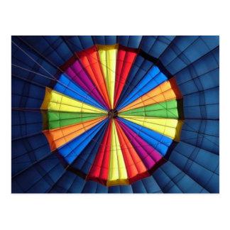 Post Card Inside Hot Air Balloon
