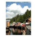 Post Card - Ketchikan Creek Street - Alaska