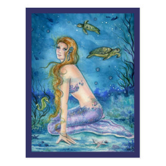 POST CARD MERMAID FANTASY