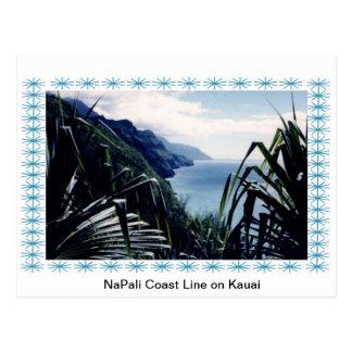 Post Card-NaPali Coastline, Kauai, Hawaii Postcard
