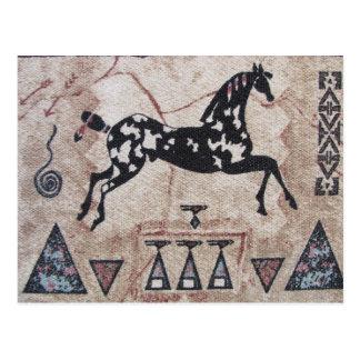 Post Card--Native American Art Postcard