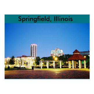 post card of Springfield, Illinois