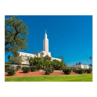 Post card of the Los Angele LDS Temple