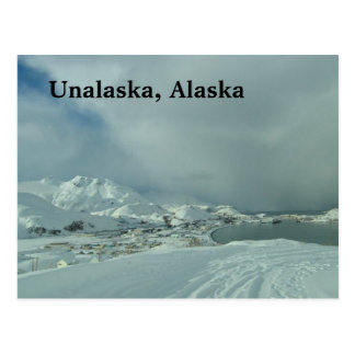 Post card of Unalaska, Alaska