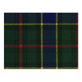 Post Card Ogilvie Hunting Modern Tartan Print