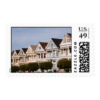 Post Card Row, San Francisco Postage Stamp
