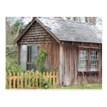 Post Card -Rustic House