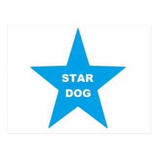 Post Card Star Dog on Torquios Star