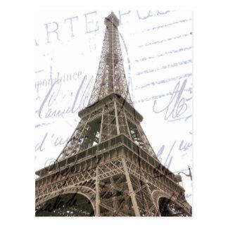 Post Card, The Eiffel Tower Postcard