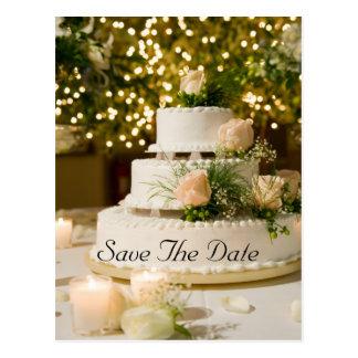 Post Card-- Wedding Cake Postcard