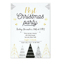 Post Christmas Party Invitation