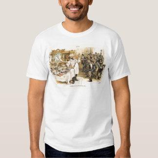 Post-Election 1888 President Benjamin Harrison T Shirt