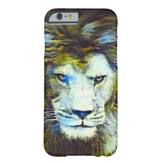 Post Impressionism African Lion Wildlife Art Barely There iPhone 6 Case