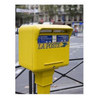 Post in Paris Postcard