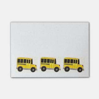 Post-it amarillos del profesor del conductor del post-it® nota