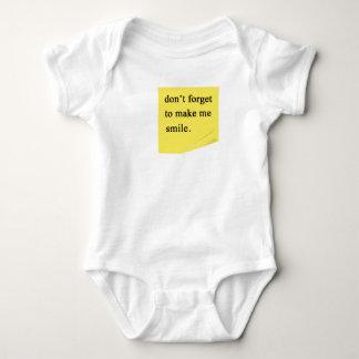 post it baby bodysuit