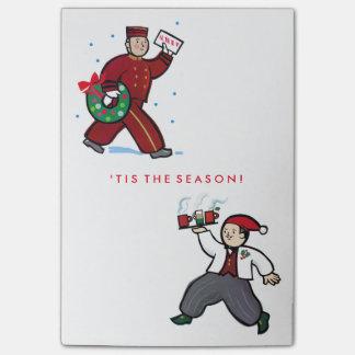 Post-it de los días de fiesta del navidad post-it® notas