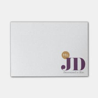 Post-it de ms JD Post-it Notas