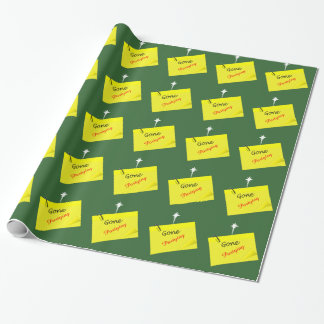 Post it humor funny starry wrapping paper