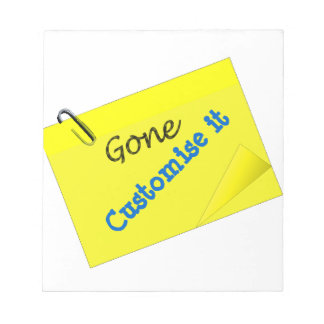 Post it humor funny yellow sticky notepad