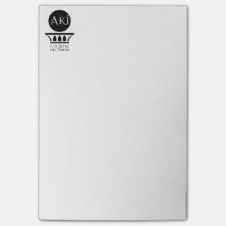 Post-it logo Aki Post-it Notes