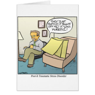 Post-It Note Card