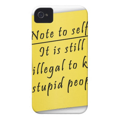 Post it-Note to self iPhone 4 Case-Mate Case